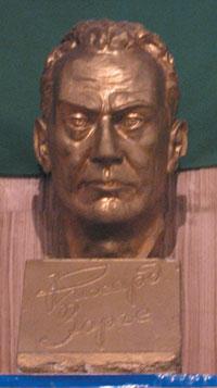 Sorge´s bust at Sorge School in Baku