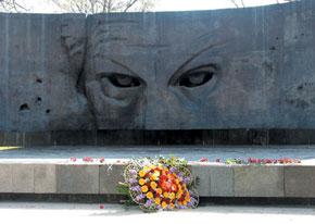 Richard Sorge´s monument in Baku