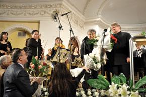 Farhad Badalbeyli`s 65th birthday concert, Philharmonia, Baku
