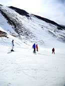 Skiing on Shahdag, King of the Mountains
