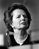 Baroness Thatcher in Baku