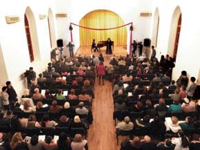 Azerbaijani musicians perform French and Germany music to celebrate the Élysée Treaty anniversary