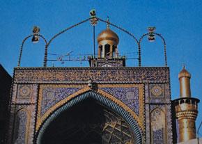 Imam Huseyn tomb, Fuzuli's final resting place. Karbala, Iraq