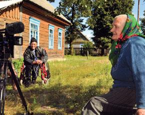 Witness interview. Sinkievitchi, Brest oblast
