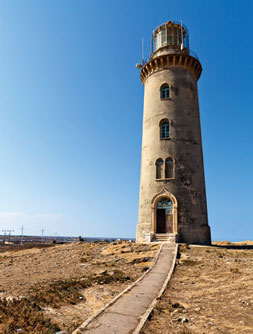 The Absheron lighthouse