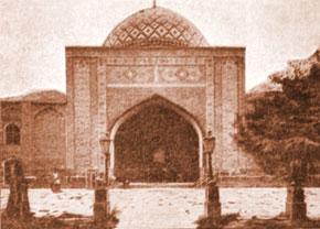 Goy mosque in Iravan (the 18th century)