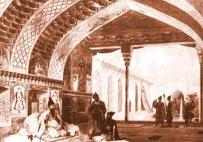 Summer pavilion, Sardar palace, Iravan (the 18th century)