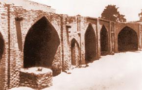 Gergiau caravanserai with 78 shops, Iravan (16th -18th centuries)