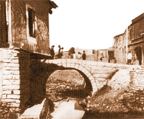 View of Damirbulag bridge, Iravan (17th -18th centuries)