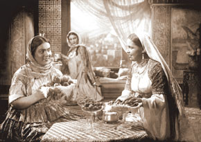 "Scene from the film ""Arshin Mal Alan"". 1945"