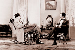 "People's Artists of the Republic of Azerbaijan Murad Yeqizarov and Hasan Mammadov in the film ""Arshin Mal Alan"". 1965"