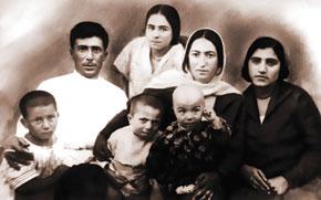 Jabbarli with his family
