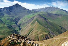 Khinaliq village, Quba district