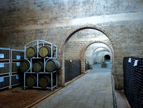 Shato Monolit wine caves
