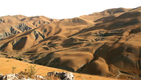 Besh Barmak Serpent from rock outcrop viewpoint