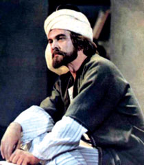 Muslim Magomayev in the lead role in the film Nizami