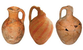 Pottery ware. 8th-9th and 11th-12th centuries