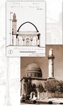 Teze Pir mosque, 1905-1914. Baku