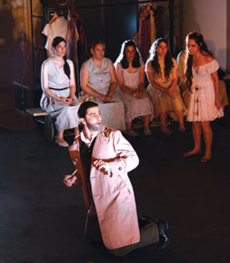 As Leporello in Don Giovanni, Tel Aviv