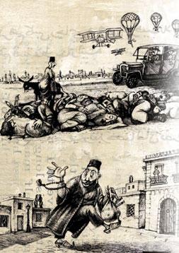 Sabir´s characters as seen by Bayram Hajizade