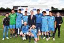 Arsenal Legends and Azerbaijani IDPs Battle it Out