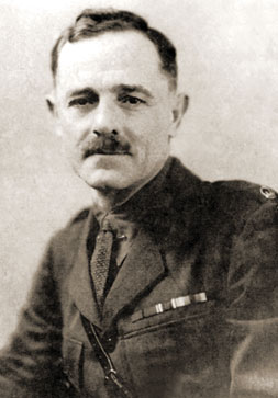 Major Ranald MacDonell, British diplomat and intelligence officer