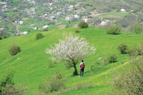 Our pictures show scenery around Lerik, southern Azerbaijan