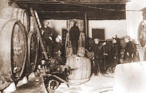Cognac cellar, registration department, Yelenendorf.