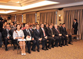 A distinguished audience for the launch of The Armenian Question in the Caucasus