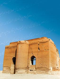 Ark castle. Tabriz, 14th century