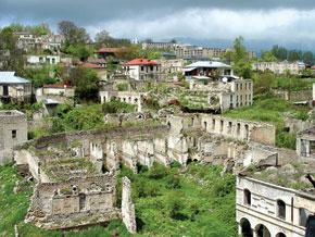 Shusha district, after Armenian occupation