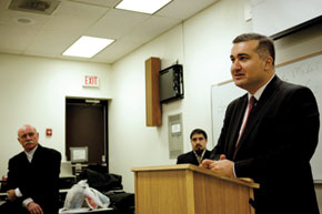 Speaker H.E. Elin Suleymanov, Consulate General of the Republic of Azerbaijan in Los Angeles