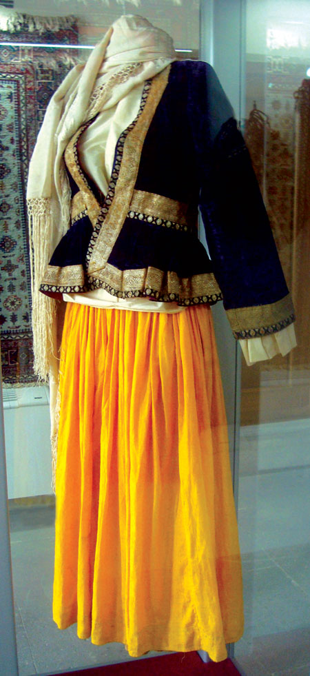From The History Of Azerbaijani Clothing Culture Visions Of Azerbaijan Magazine