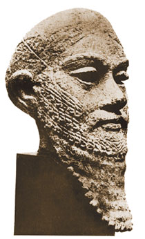 King of Kuti. III millennium B.C