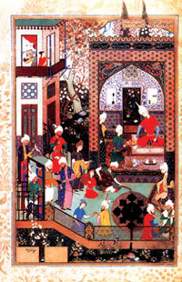 Miniature from Nizami's 'Khamsa'
