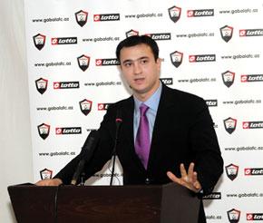Tale Heydarov, President, Gabala Football Club