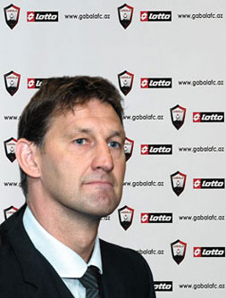Tony Adams, English football legend and new head coach of Gabala Football Club