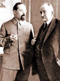 Karakhan and Chicherin. 1930