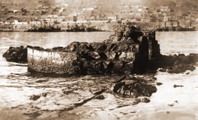 The remains of Sabail fortress. 1930