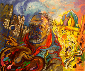 Self-portrait in Icheri Sheher, 2004