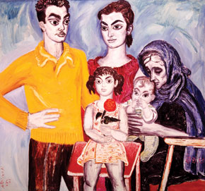 Baku Self-portrait, 1987