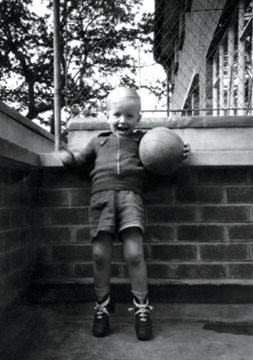 Guess his boyhood dream!