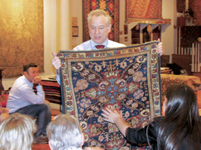 Jeffrey Werbock and a carpet you just have to touch