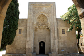 The tomb that Shirvanshah Khalilullah I had built for his mother and son