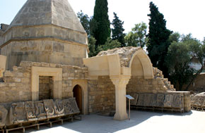Dervish tomb and remnants of the Key Qubad Mosque