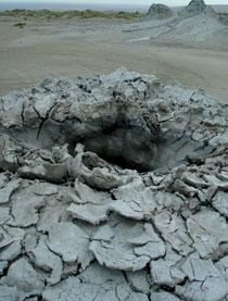 Mud-leafed crater