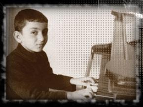 Vagif Mustafazadeh in his childhood