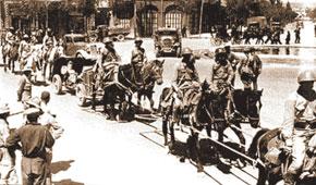 Soviet troops enter Iran. September 1941