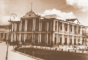 The South Azerbaijan National Government building