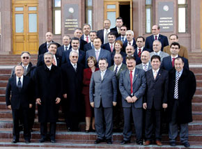 Delegates to the 2nd Congress of World Azerbaijanis. 16 March 2006